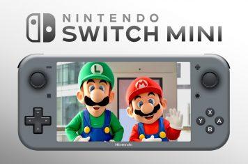 Nintendo Switch Mini handheld console