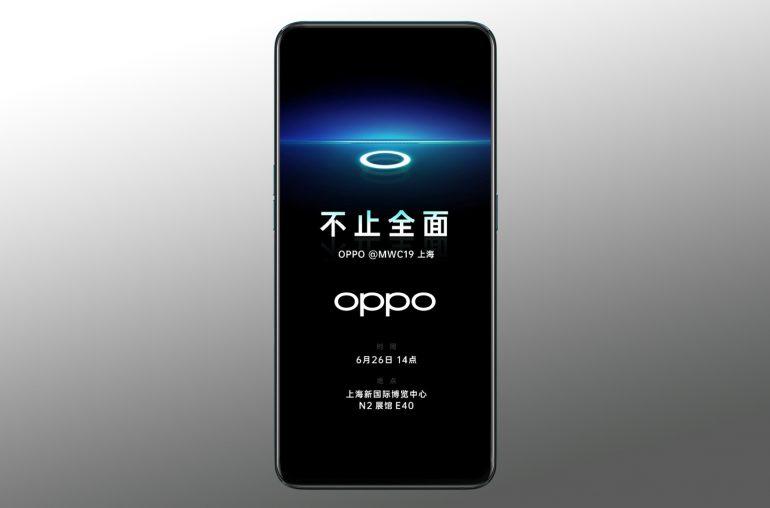 Oppo smartphone selfie camera