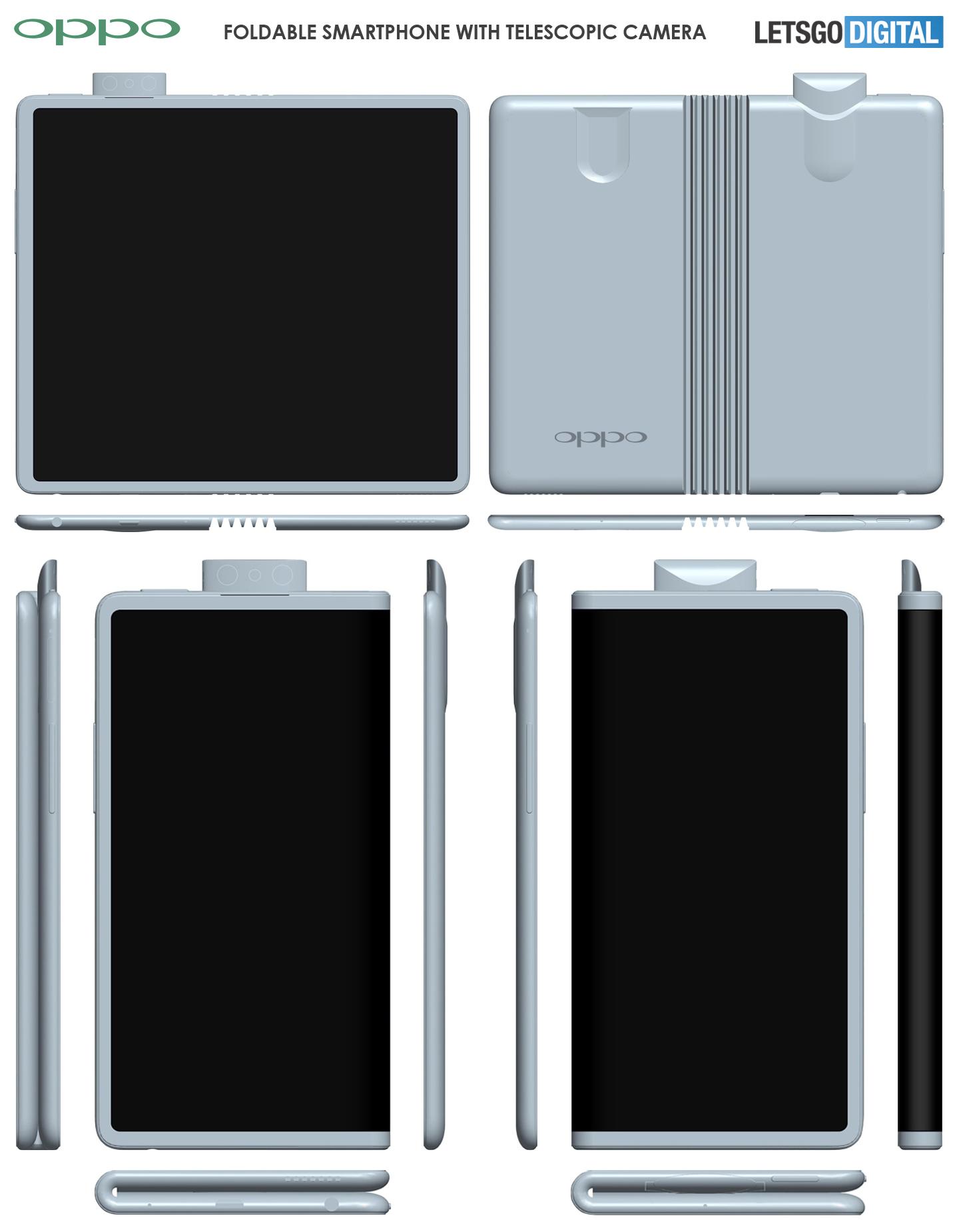 Opvouwbare mobiele telefoon