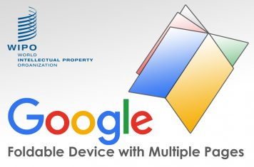 Opvouwbare smartphone Google