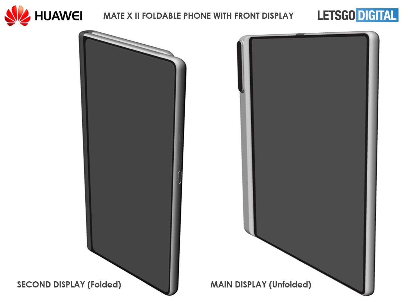 Opvouwbare telefoon Huawei