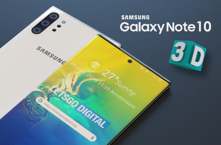 Samsung Galaxy Note 10 3D