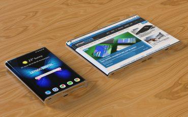 Samsung Galaxy vouwtelefoon