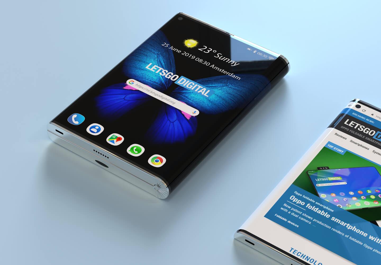 Samsung vouwtelefoon