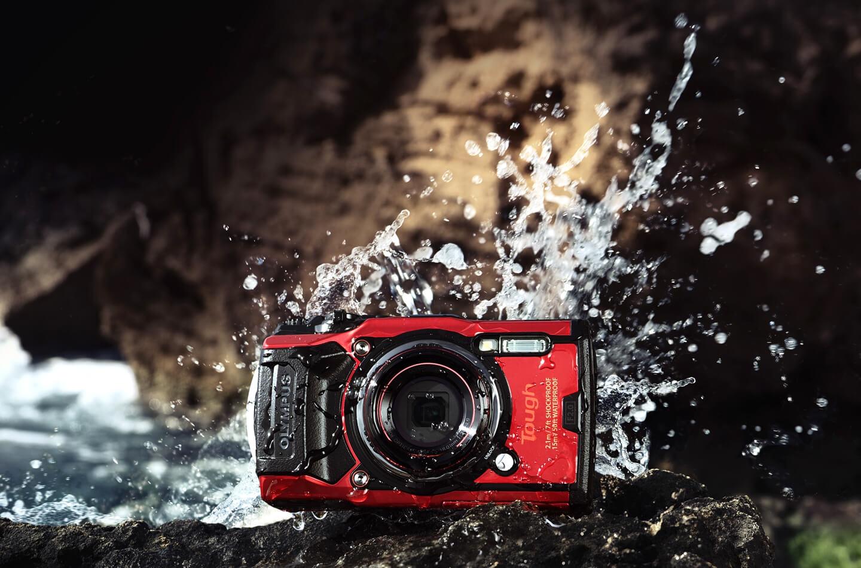 Waterdichte camera voor vakantie