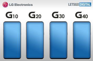 LG G-serie smartphone modellen