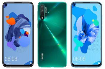 Nieuwe Huawei smartphones