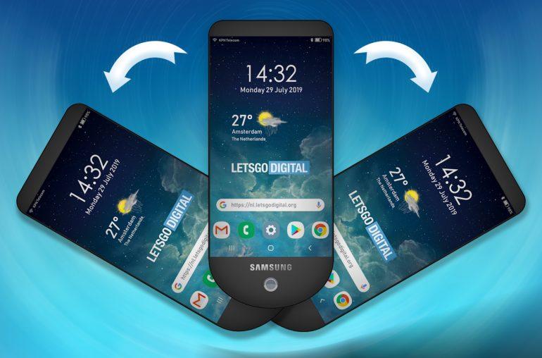 Nieuwe telefoon van Samsung