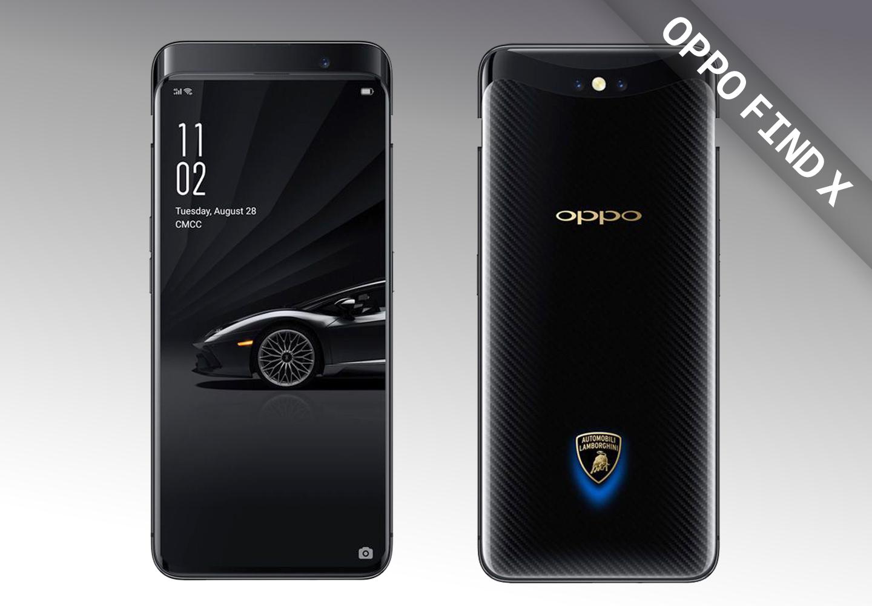 OPPO Find X Lamborghini Editie