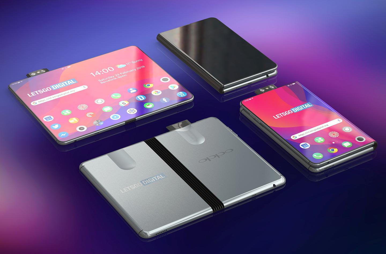Oppo Reno opvouwbare smartphone