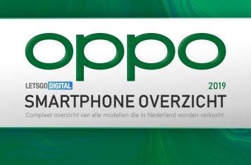 OPPO smartphones overzicht 2019