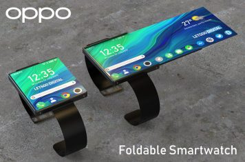 Opvouwbare smartwatch Oppo