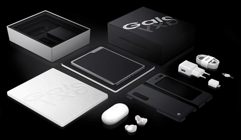 Samsung Fold opvouwbare smartphone