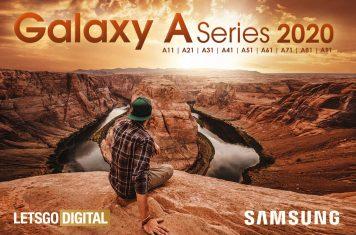 Samsung Galaxy A-serie modellen 2020
