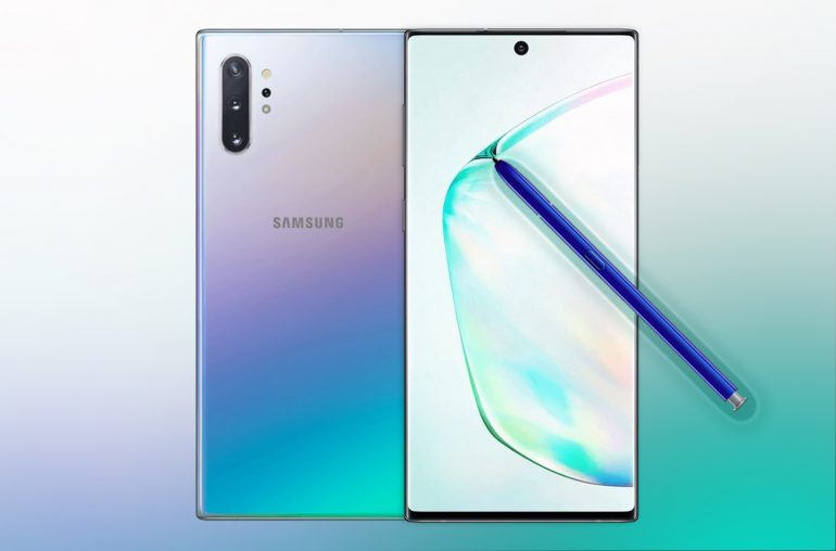 Samsung Galaxy Note 10 Plus 3D renders