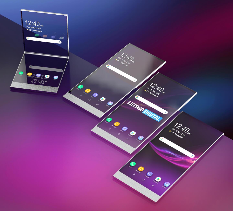 Sony vouwtelefoon
