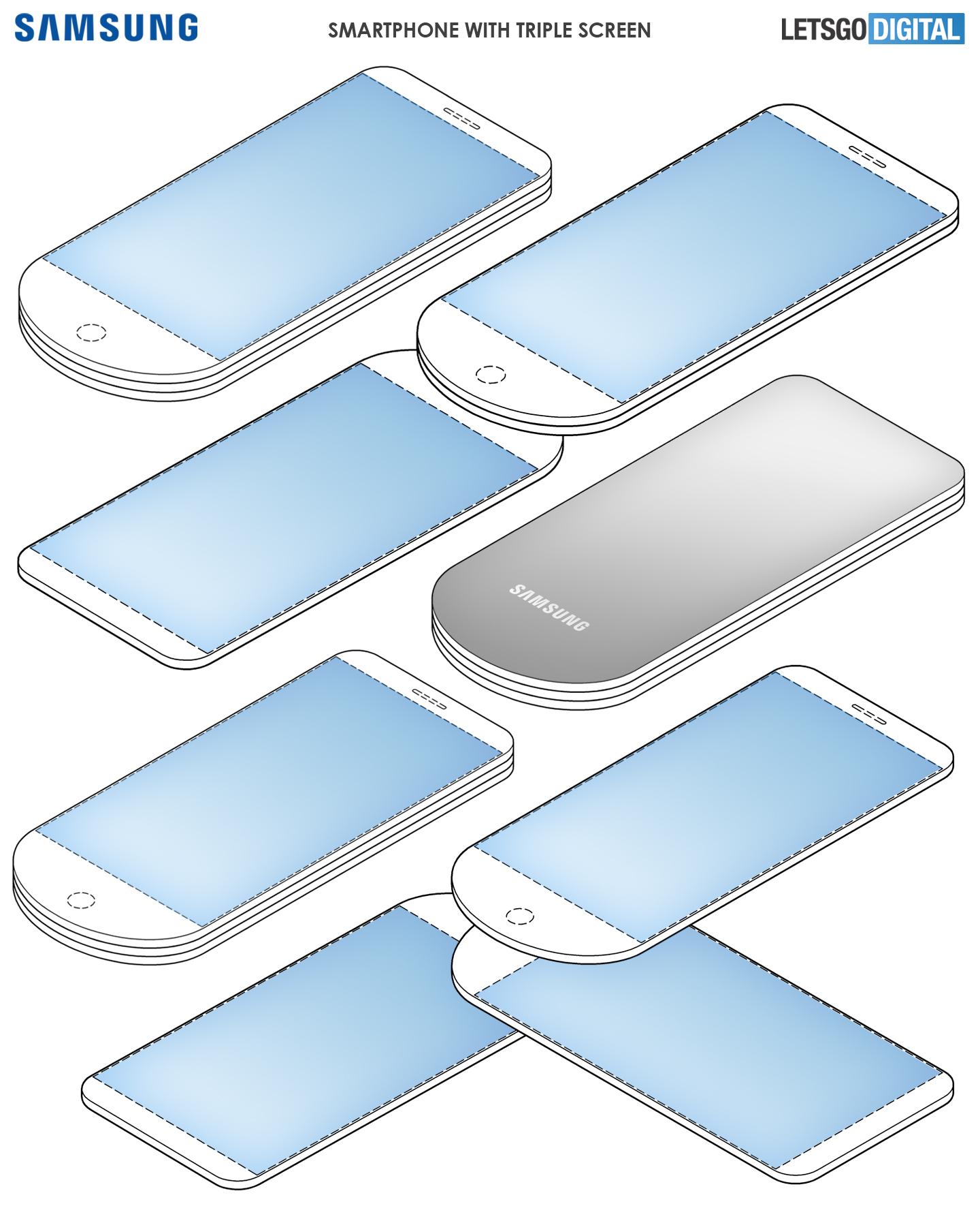 Uitschuifbare Samsung telefoon