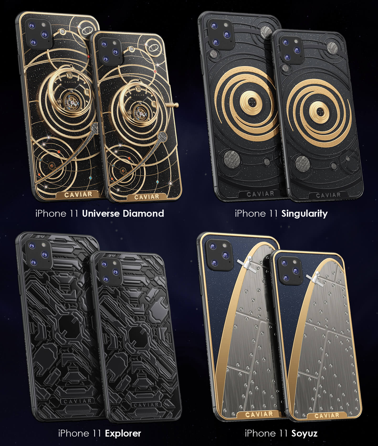 Apple iPhone 11 space collection