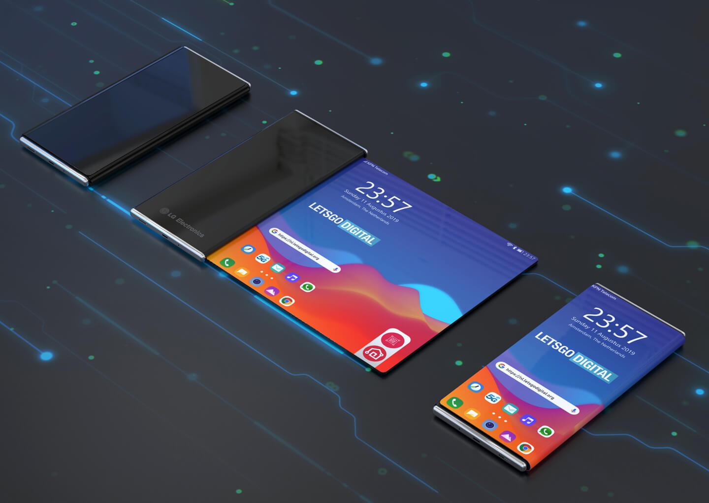 Dual-screen telefoon