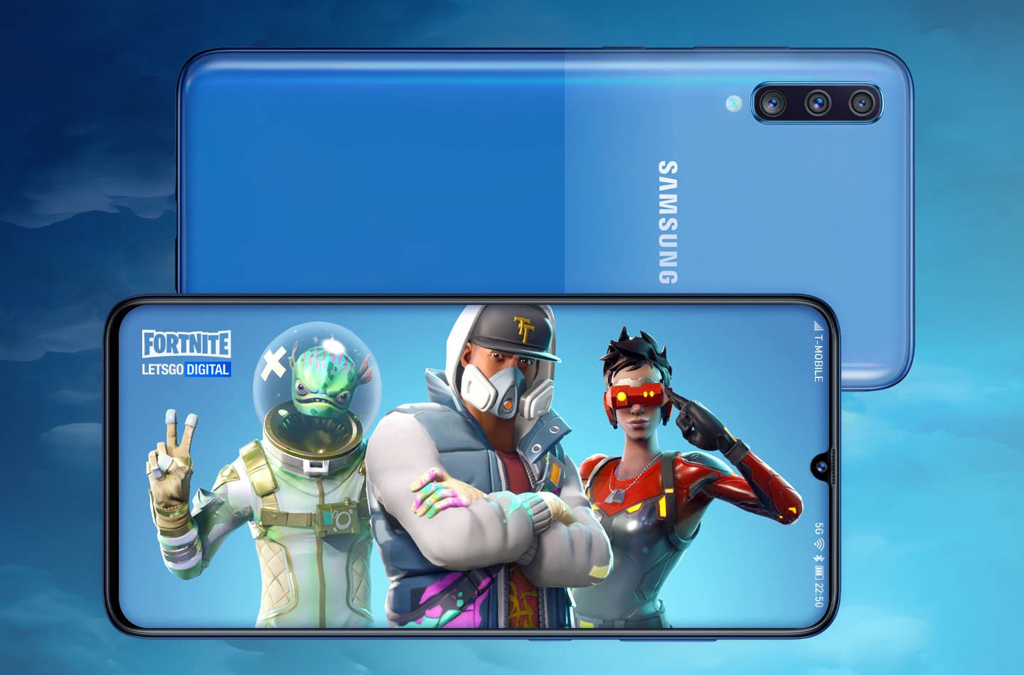 Galaxy A90 mobile gaming
