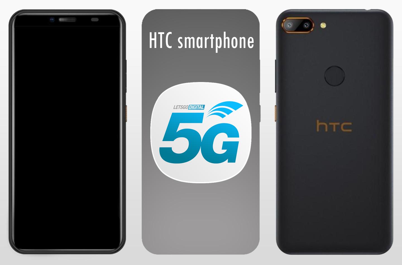HTC 5G smartphone