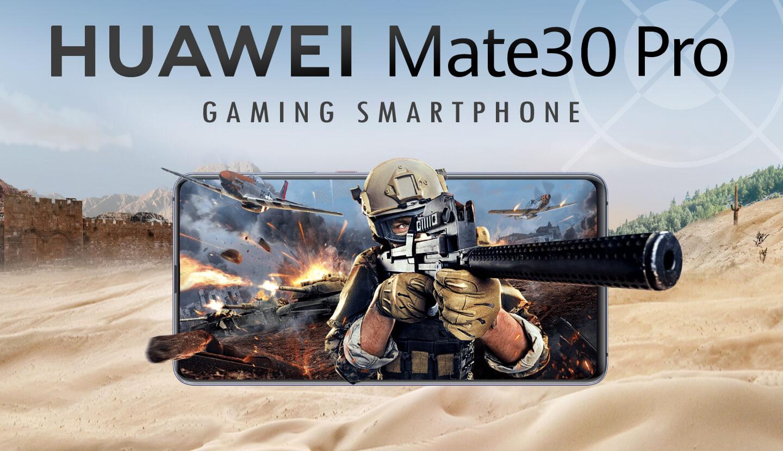 Huawei Mate 30 Pro gaming smartphone