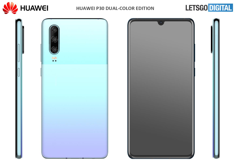 Huawei smartphone nieuwe kleuren