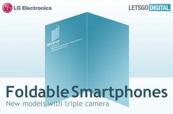 LG opvouwbare mobiele telefoons