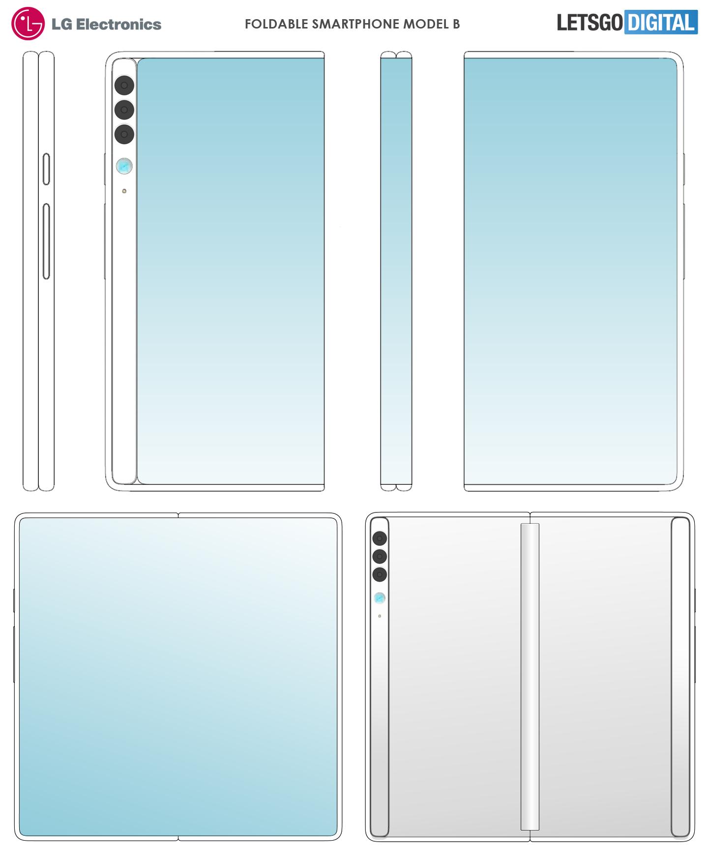 LG opvouwbare telefoon modellen