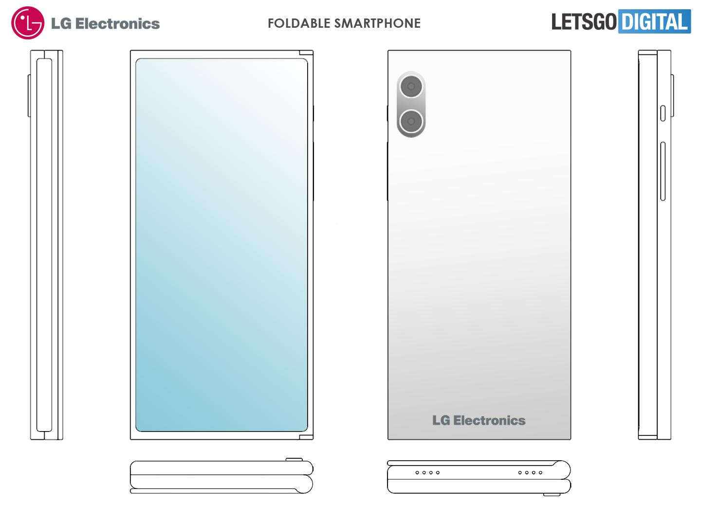 LG opvouwbare telefoons