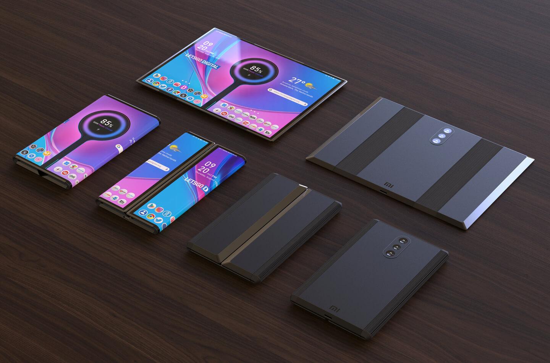 Nieuwe opvouwbare telefoon Xiaomi