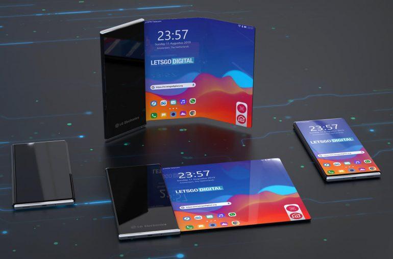 Oprolbare smartphone