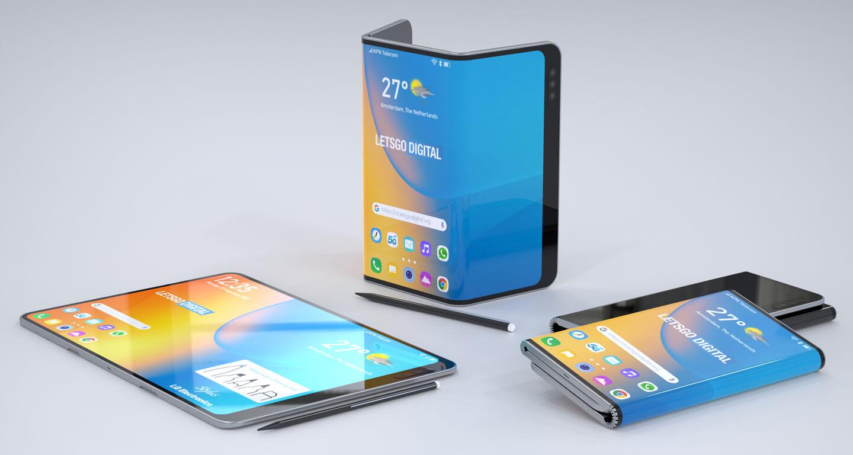 Opvouwbare smartphone styluspen