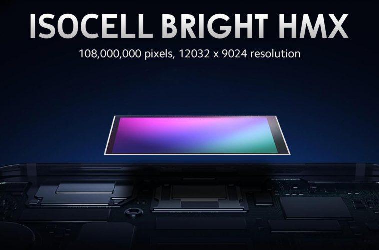 Samsung 108 megapixel smartphone camera