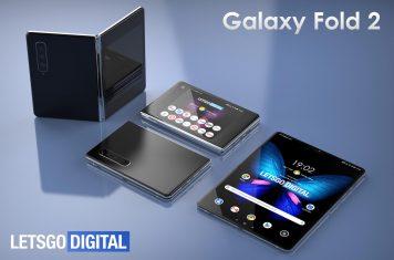 Samsung Galaxy Fold 2 opvouwbare telefoon