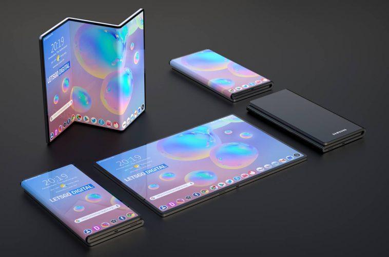 Samsung Galaxy opvouwbare telefoon