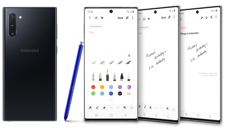 Samsung Note 10 serie