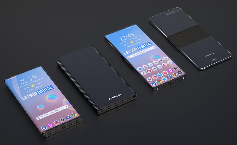 Samsung vouwbare smartphones