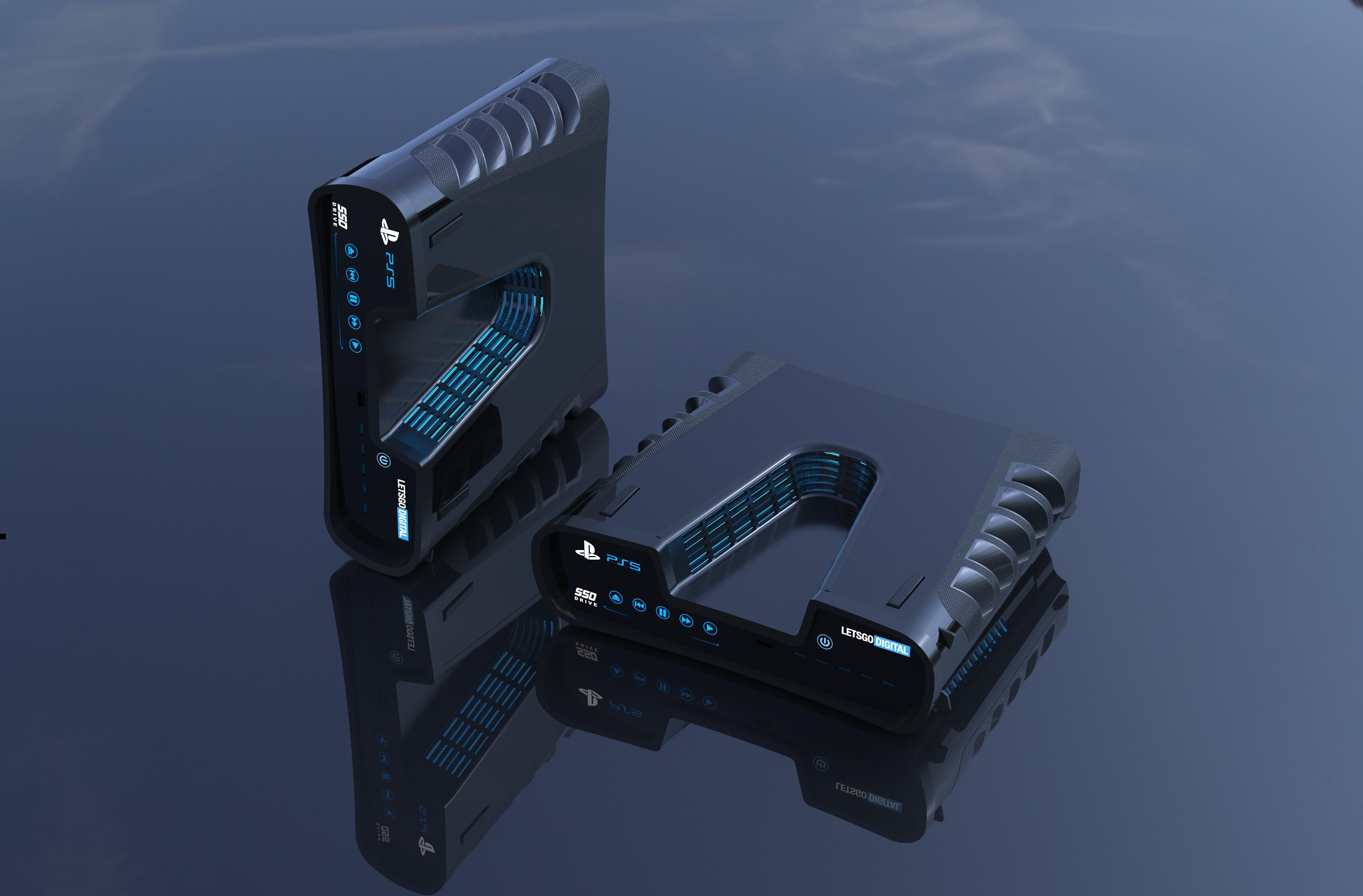 sony spelcomputers - Así luciría en la vida real el Devkit de PlayStation 5