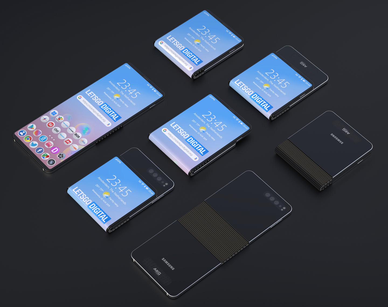Telefoon opvouwbaar scherm