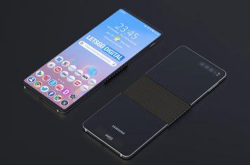 Vouwbare telefoon Samsung
