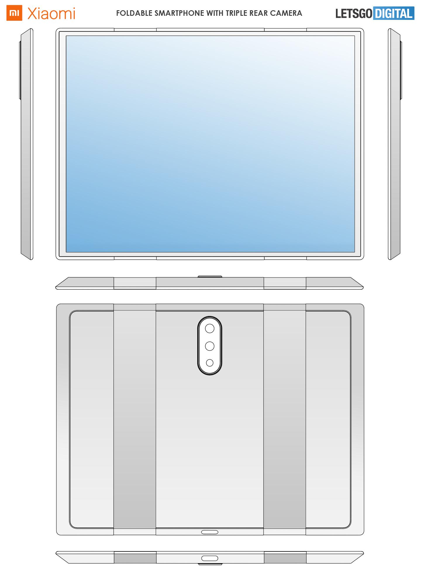 Xiaomi vouwtelefoon