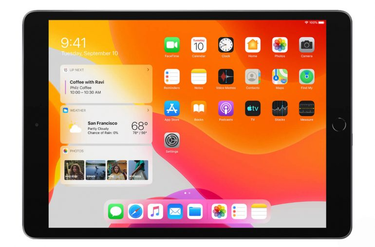 Apple iPad 2019 tablet
