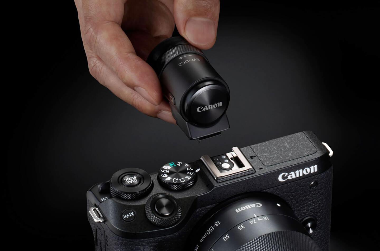Canon M6 systeemcamera