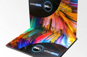Dell laptop met opvouwbaar scherm