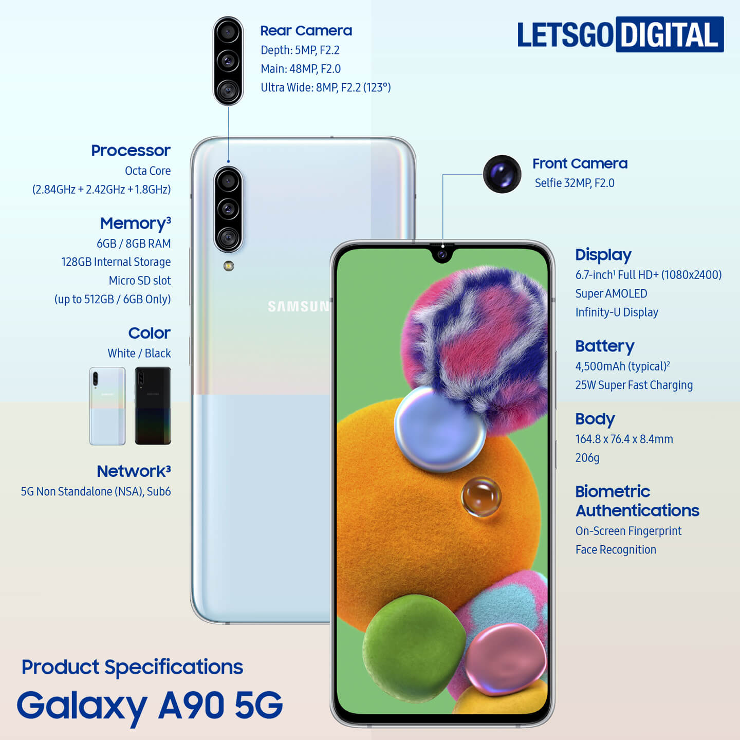 Galaxy A90 specificaties