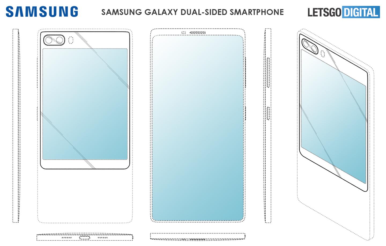 Galaxy smartphones met extra scherm