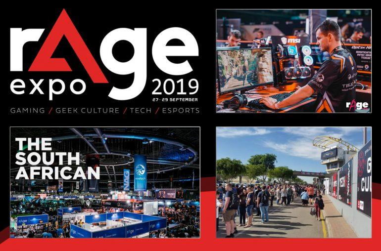Grootste game evenement Rage Expo