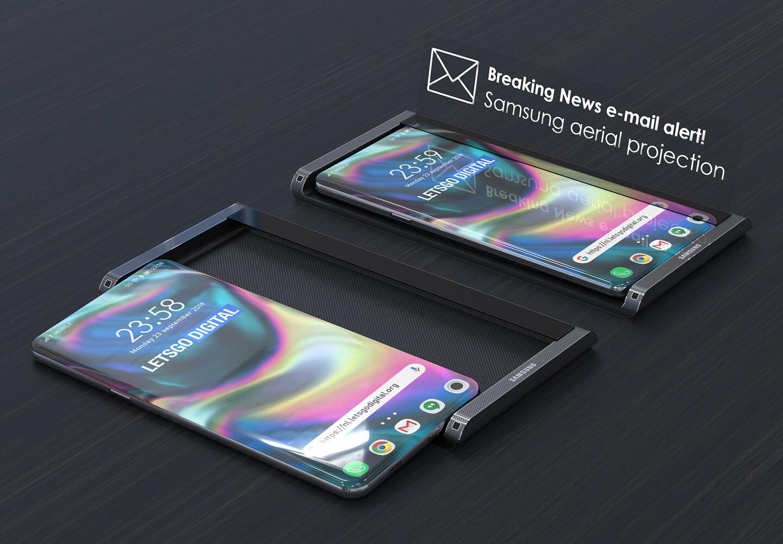 Hologram smartphone