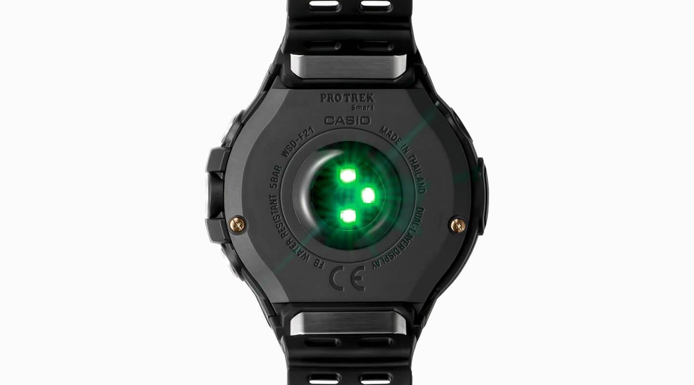 Horloge met hartslagmonitor